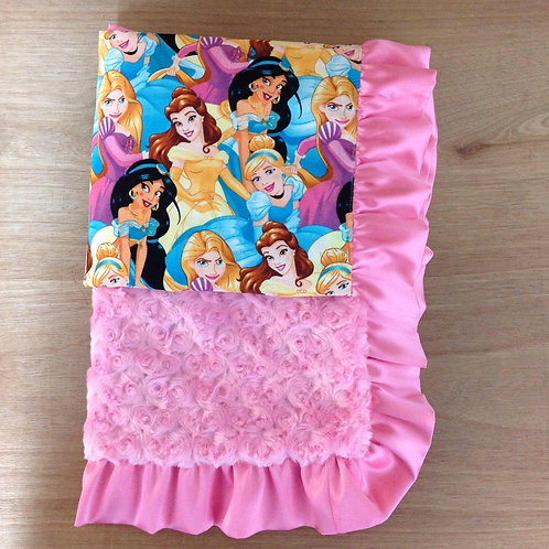 Baby Blanket Princess, Blanket/ Receiving Blanket Disney Princess
