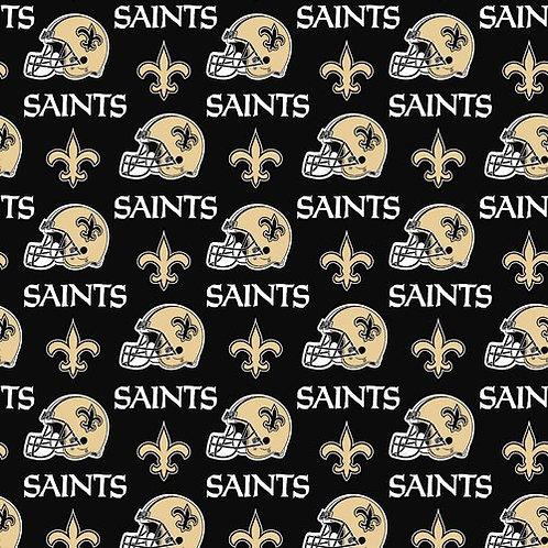 NFL New Orleans Saints Football Print 100% Cotton Fabric
