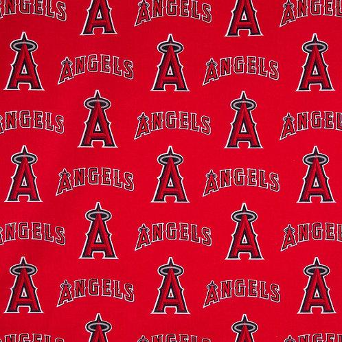 MLB Anaheim Angels Baseball Prints 100% Cotton Fabric