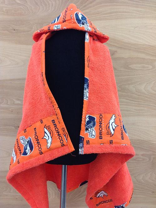 Hooded Towels Denver Broncos ,Orange Denver Broncos .