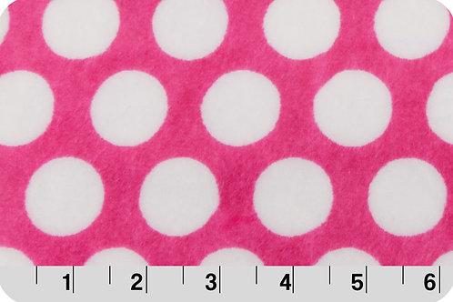 Mod Dot/ Hot Pink