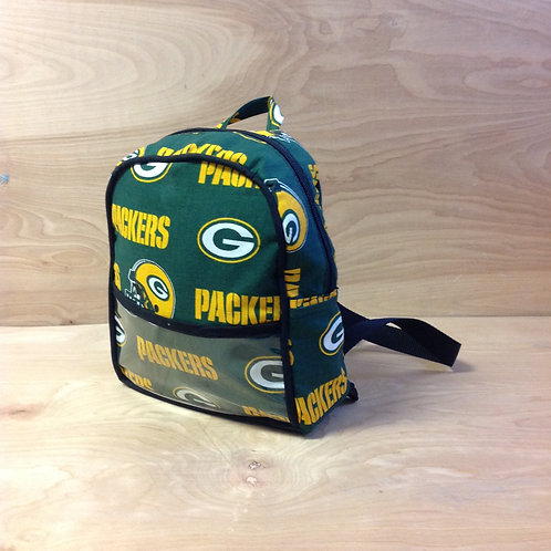 Kid's Mini Backpack- Greenbay Packers/ Black