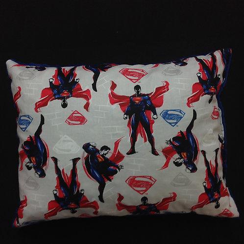 Travel Memory foam Pillow- Superman/ Navy