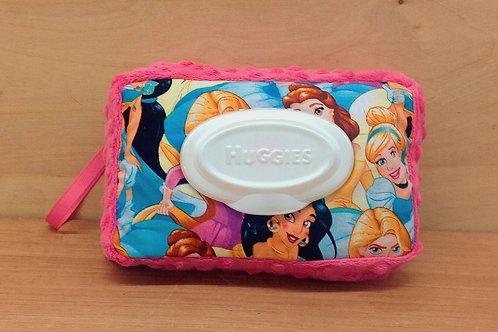 Wipe Case Cover- Disney Princess/ Fuschia