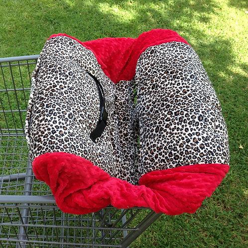 Tan Cheetah/ Red
