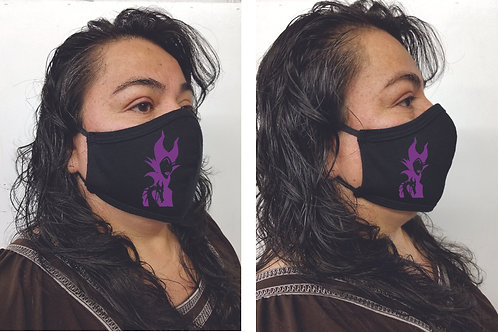 Black Mask (Maleficent) Face Mask