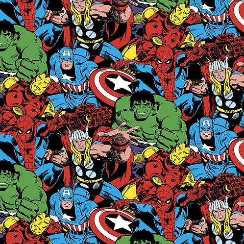 Marvel Collage. Marvel Comic Packed