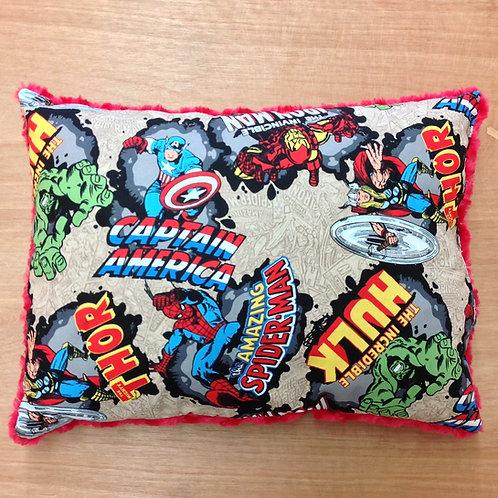 Travel Memory foam Pillow- Marvel Comics/ Red