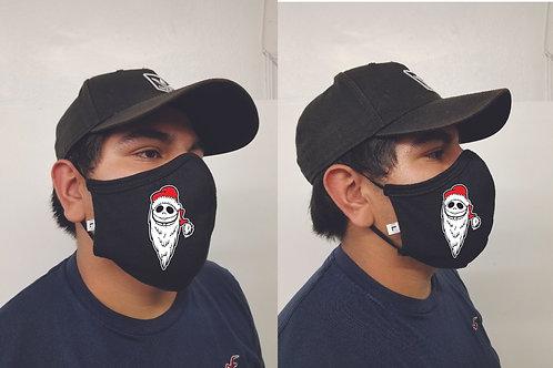 Black Mask (Santa Jack) Face Mask