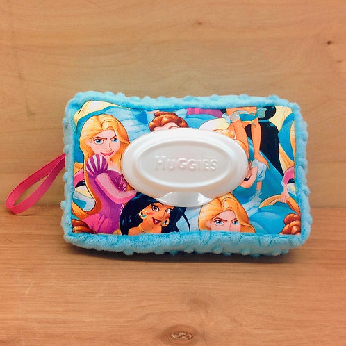 Wipe Case Covers- Disney Princess/ Blue