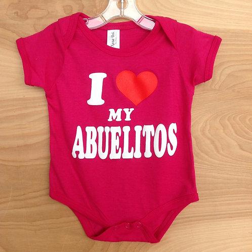 I Love Mi Abuelitos/ Fuchsia