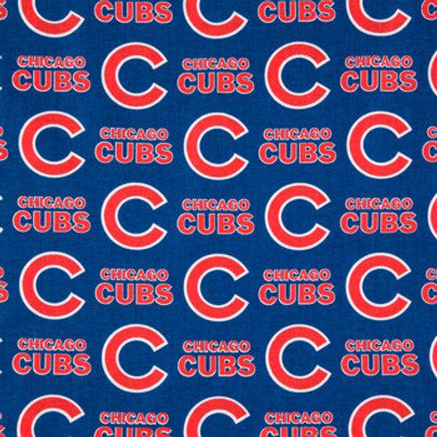 MLB Chicago Cubs Baseball Prints 100% Cotton Fabric
