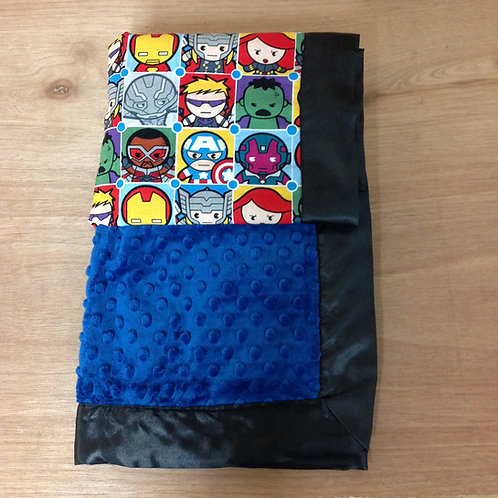 Baby Blanket super heroes, Receiving Blanket Marvel
