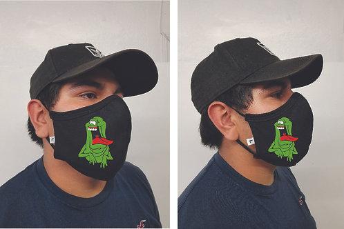 Black Mask (Slimer) Face Mask
