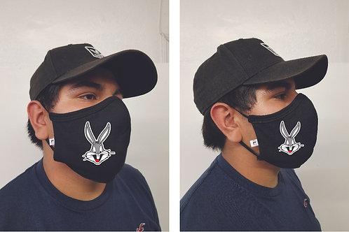 Black Mask (Bugs Bunny) Face Mask