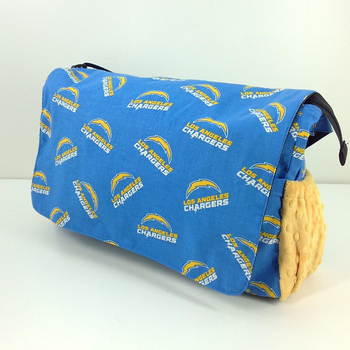 Diaper Bag- Los Angeles Chargers/ Yellow