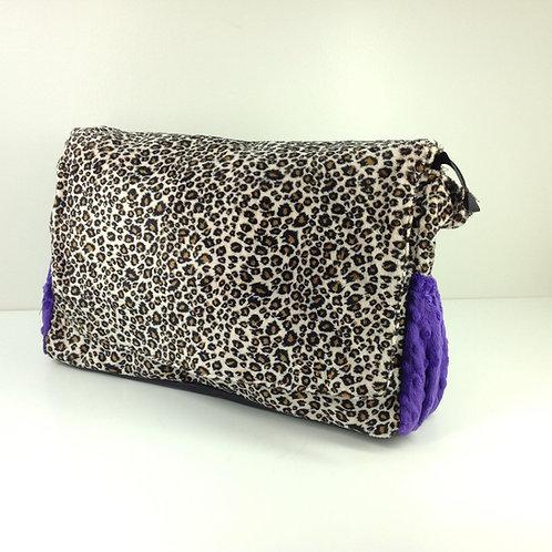 Diaper Bag- Cheetah/ Purple