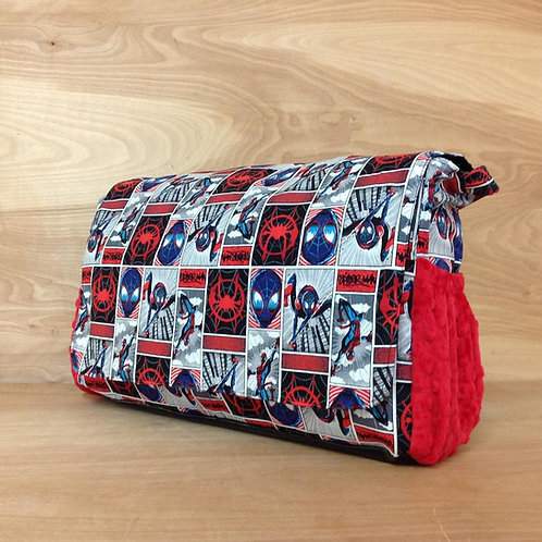 Diaper Bag- Spiderverse/ Red,Diaper bag spider man