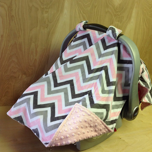 Blush/ SIlver/ Chevron/Pink/ CL
