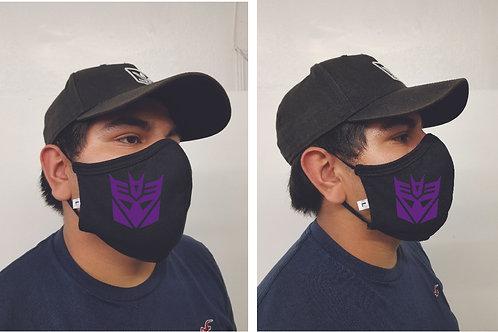 Black Mask (Decepticon) Face Mask