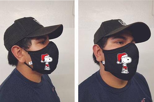 Black Mask (Santa Snoopy)