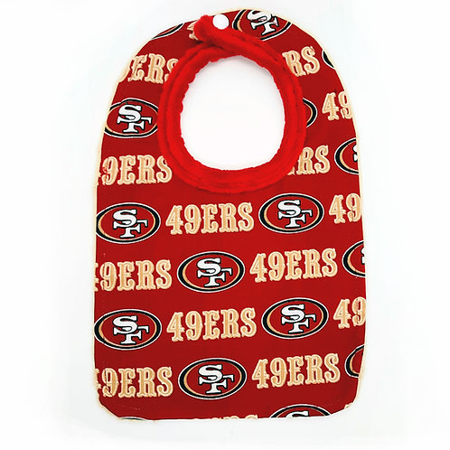 49ers Baby Bib