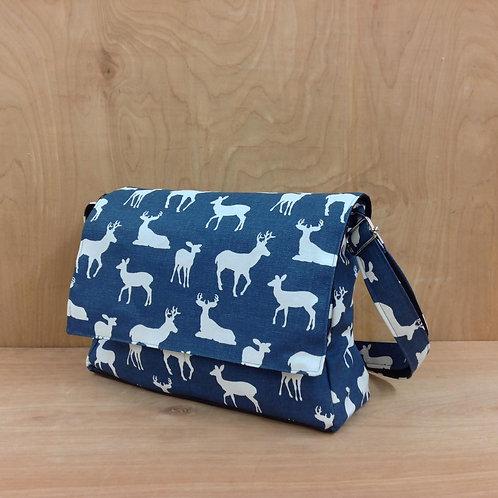 Handbags- Navy Deers