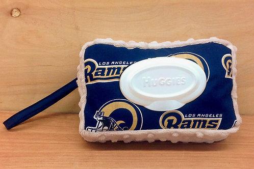 Wipe Case Covers- Rams/ Biege