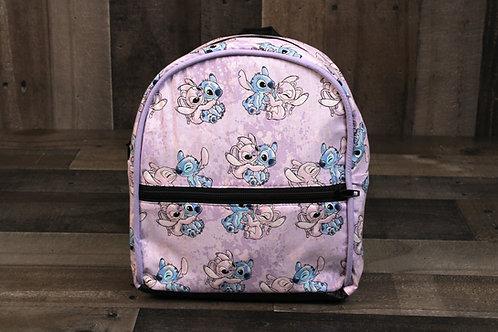 Mini Backpack- Stitch and Angel