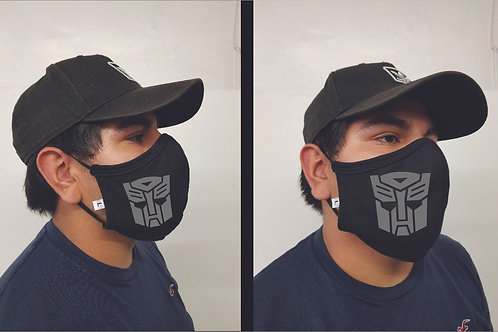Black Face Mask (Autobots) Face Mask