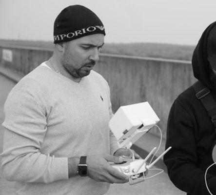 Portrait of Drone Pilot and Associate producer Adel Storace,  https://www.thepassportmovie.com