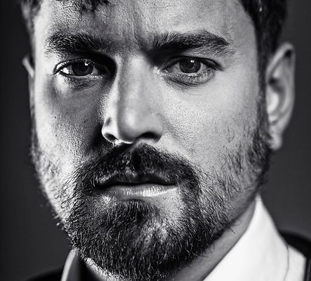 Portrait of Actor Michael Koltes photography by Olivier Hero Dressen,  https://www.thepassportmovie.com