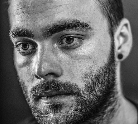 Portrait of First AC & Associate producer Luke Farrow, Photography by Olivier Hero Dressen https://www.thepassportmovie.com