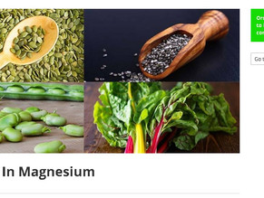 73 Foods Rich In Magnesium