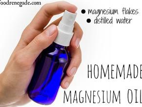 How to Make and Use original handmade Magnesium Oil Spray