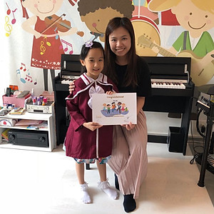 June 2018, Piano Adventure Graduation