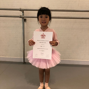 July 2018, Ballet Exam Cert. Presentation