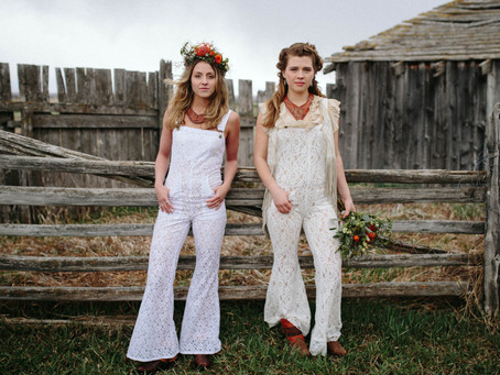 RevivALL / Lace Overalls