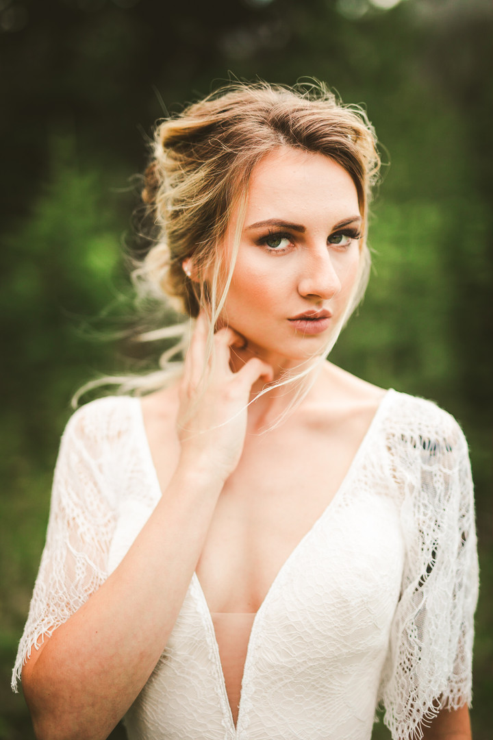Bridal hair and makeup by Ethereal Hair and Makeup