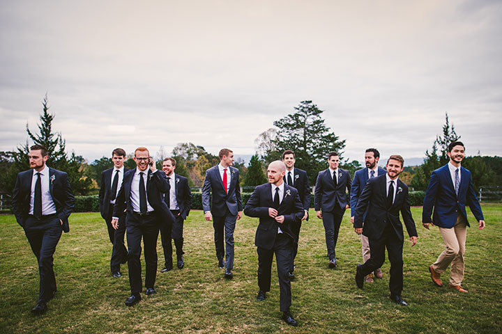 Groomsmen in Chattanooga, Tennessee