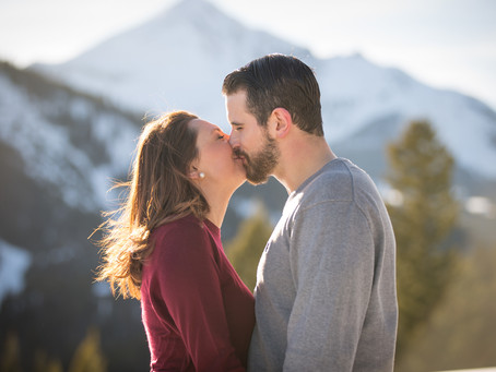 Courtney + FJ / Big Sky Engagement