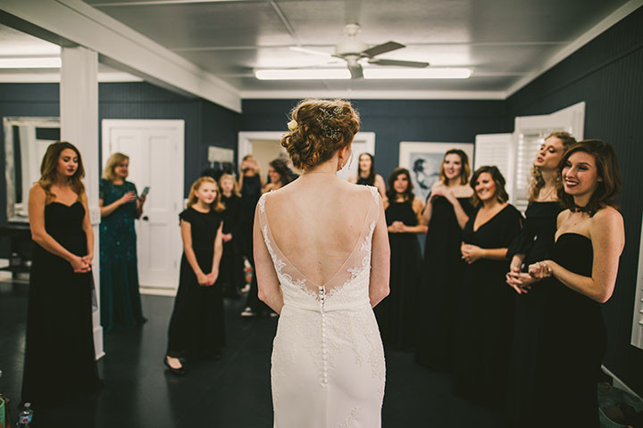Gracie Alexander's bridal party in Chattanooga, TN