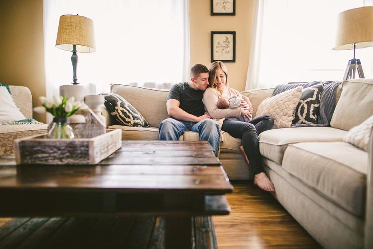 Newborn Photography 40 Watt Photo