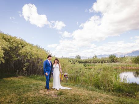 Jack + Becca | Backyard Bozeman Wedding | Montana Photographer