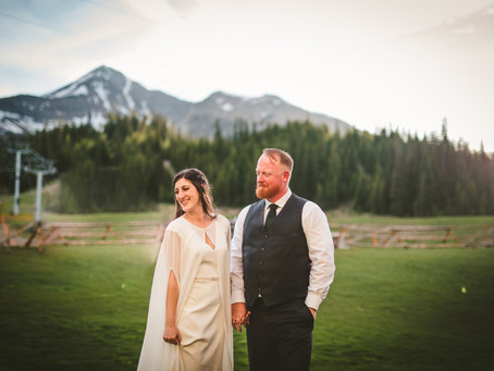 Christina + Dirk / Big Sky Wedding / Montana Wedding Photographer