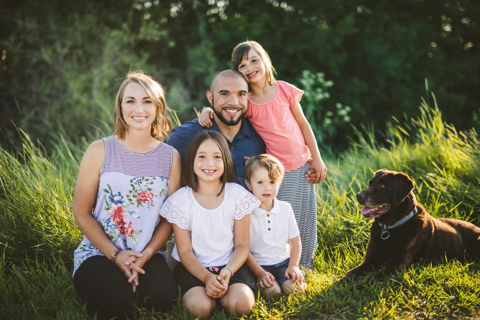 Spring Family Photos by 40 Watt Photo