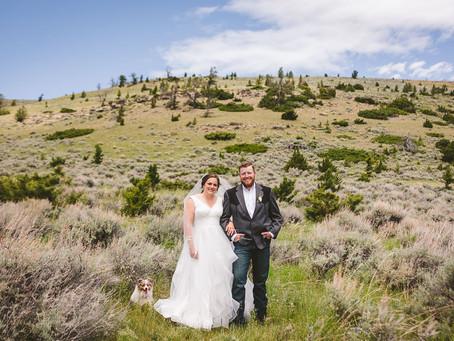 Allison + Jake | Big Timber Wedding | Montana Wedding Photography