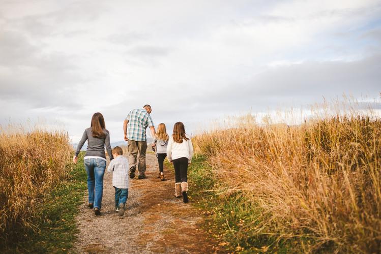 Fall Family Photos in Bozeman, Montana