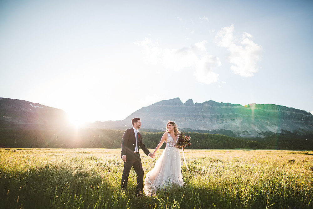 Glacier Elopement, 40 Watt Photo