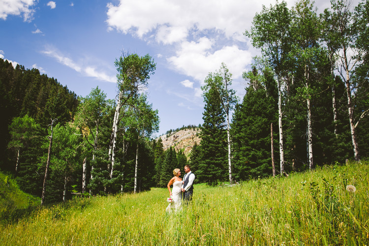 Kraig and Aimee get married on the Flying D Ranch